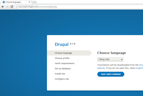 Drupal container