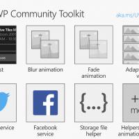 Tăng tốc phát triển ứng dụng UWP với Toolkit