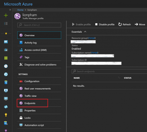 Azure Traffic Manager Overview